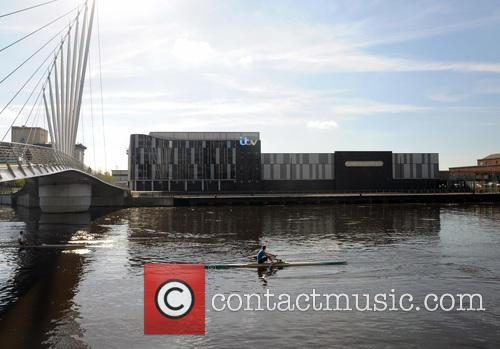 Rowers At Media City By Coronation Street Studio' 7