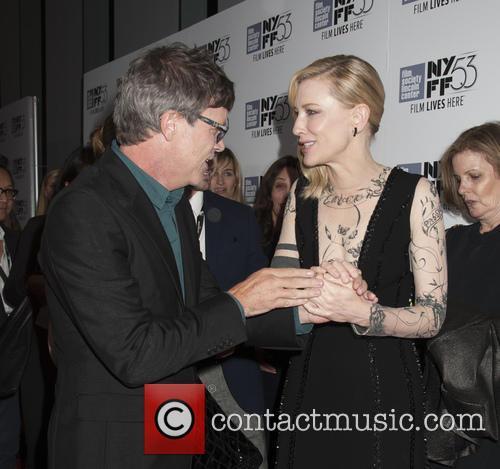 Todd Haynes and Cate Blanchett 2