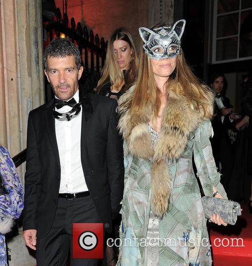 Antonio Banderas and Nicole Kimpel 2