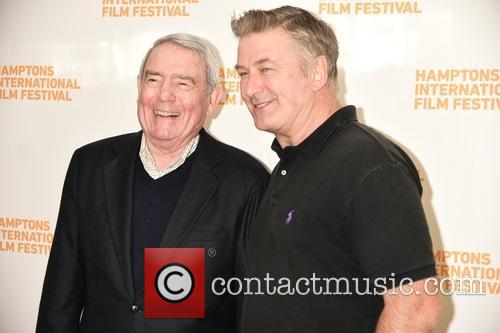 Dan Rather and Alec Baldwin