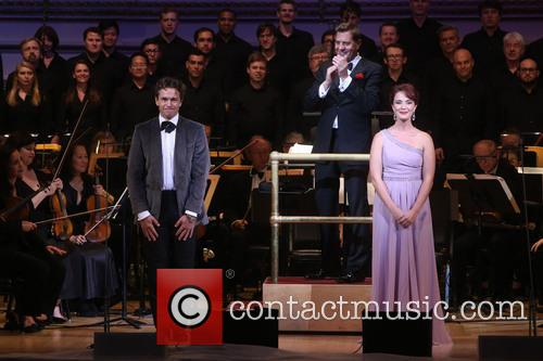 Julian Ovenden, Steven Reineke and Sierra Boggess 1