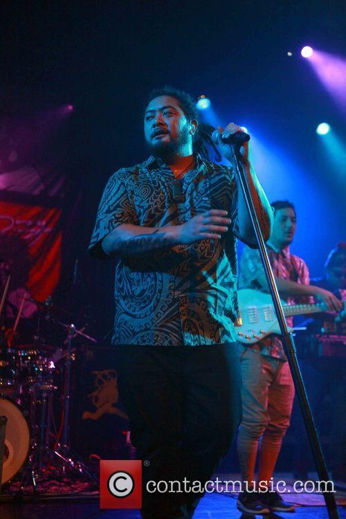 J Boog performs live at the PlayStation Theater
