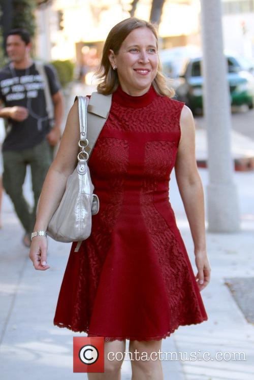 Susan Wojcicki seen leaving the Power of Women...