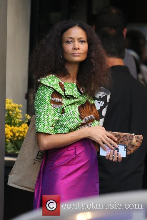 Thandie Newton Calls Out Starbucks For 'Racist' Shop Display
