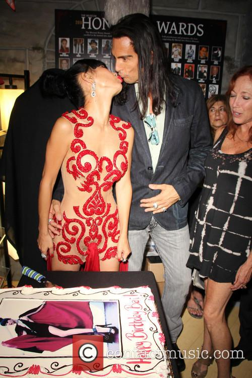 Bai Ling is surprised with a birthday party