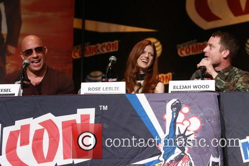 Vin Diesel, Rose Leslie and Elijah Wood 1
