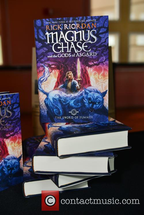 Rick Riordan speaks at Miami Dade College about...