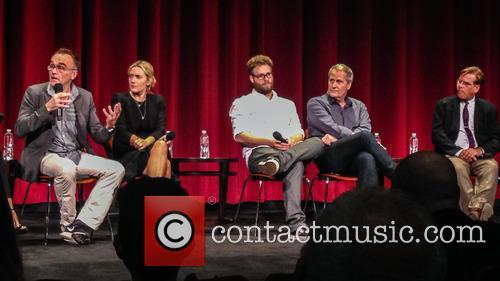 Danny Boyle, Kate Winslet, Seth Rogen, Jeff Daniels and Aaron Sorkin 2