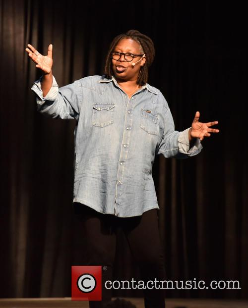 Whoopi Goldberg performs live
