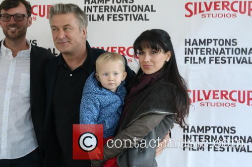 Alec Baldwin, Carmen Baldwin and Hiliaria Baldwin 2