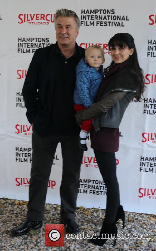 Alec Baldwin, Carmen Baldwin and Hiliaria Baldwin 4