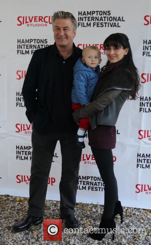 Alec Baldwin, Carmen Baldwin and Hiliaria Baldwin 5