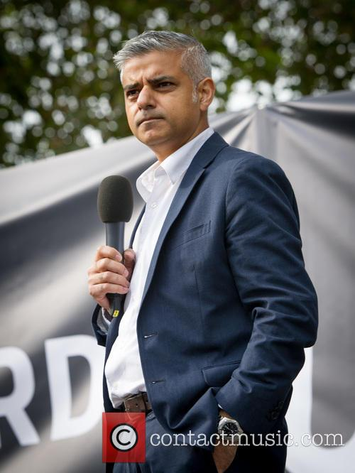 Sadiq Khan and Mayoral Candidate 1