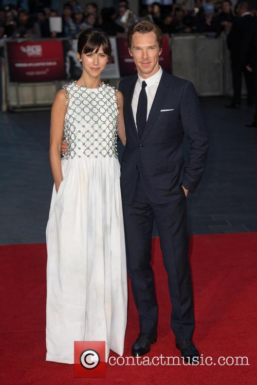 Benedict Cumberbatch and Sophie Irene Hunter 1