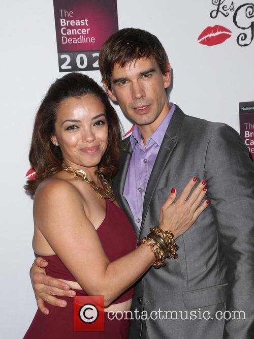Christopher Gorham and Anel Lopez 2