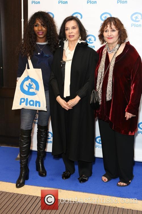 Sinitta, Bianca Jagger and Lesley Udwin 1