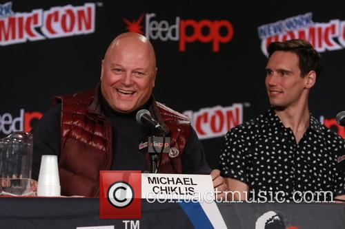 Michael Chiklis and Cory Michael Smith 1