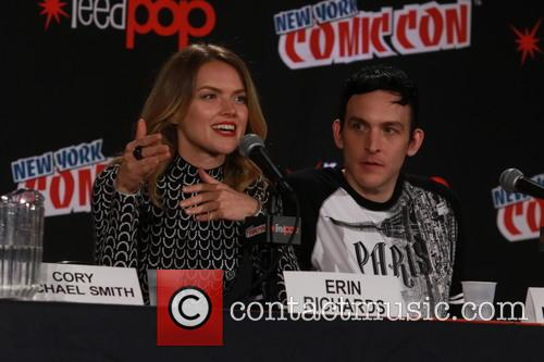 Erin Richard and Robin Lord Taylor