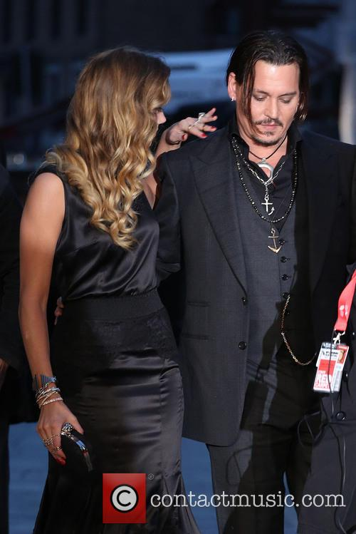 Amber Heard and Johnny Depp 3