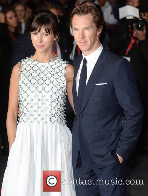 Benedict Cumberbatch and Sophie Hunter 2
