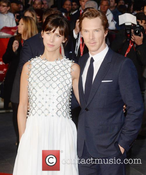 Benedict Cumberbatch and Sophie Hunter 3