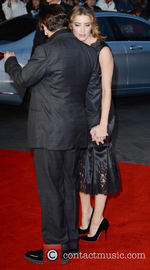 Johnny Depp and Amber Heard 2