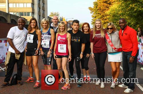 Vas Blackwood, Charlie Webster, Jenni Falconer, Jo Whiley, John Altman, Diana Marchmant, Rebecca Adlington, Emily Maitlis and Derek Redmond 8