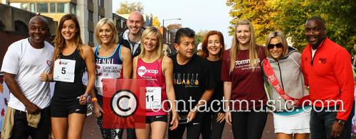 Vas Blackwood, Charlie Webster, Jenni Falconer, Jo Whiley, John Altman, Diana Marchmant, Rebecca Adlington, Emily Maitlis and Derek Redmond 1