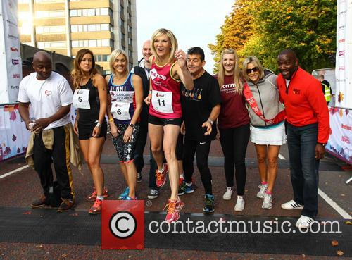 Vas Blackwood, Charlie Webster, Jenni Falconer, Jo Whiley, John Altman, Diana Marchmant, Rebecca Adlington, Emily Maitlis and Derek Redmond 9