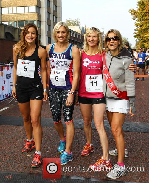 Charlie Webster, Jenni Falconer, Jo Whiley and Emily Maitlis 2