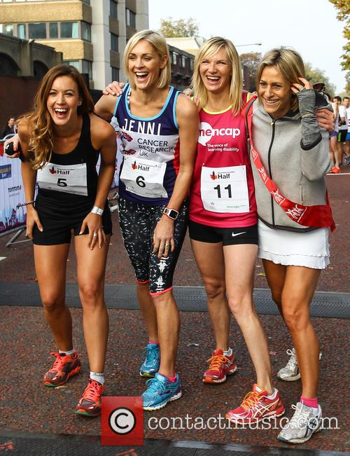 Charlie Webster, Jenni Falconer, Jo Whiley and Emily Maitlis 5