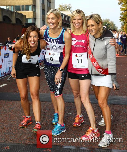 Charlie Webster, Jenni Falconer, Jo Whiley and Emily Maitlis 1