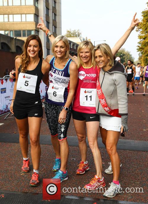 Charlie Webster, Jenni Falconer, Jo Whiley and Emily Maitlis 6