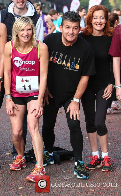 Jo Whiley, John Altman and Diana Marchmant