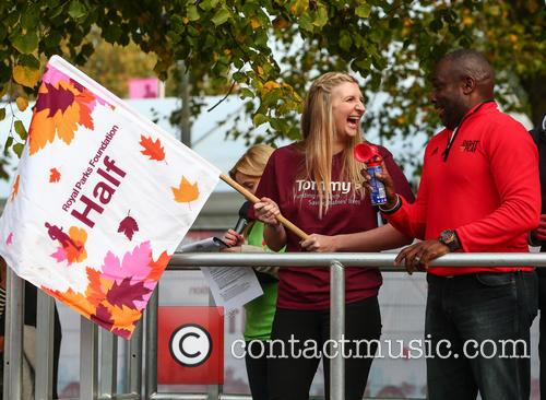 Rebecca Adlington and Derek Redmond