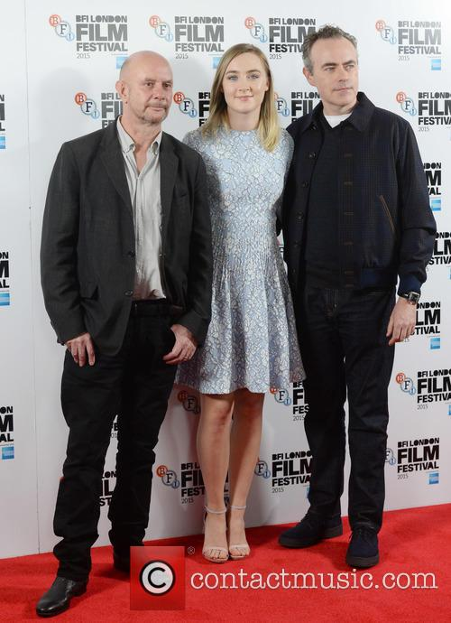 Saoirse Ronan, John Crowley and Nick Hornby 1