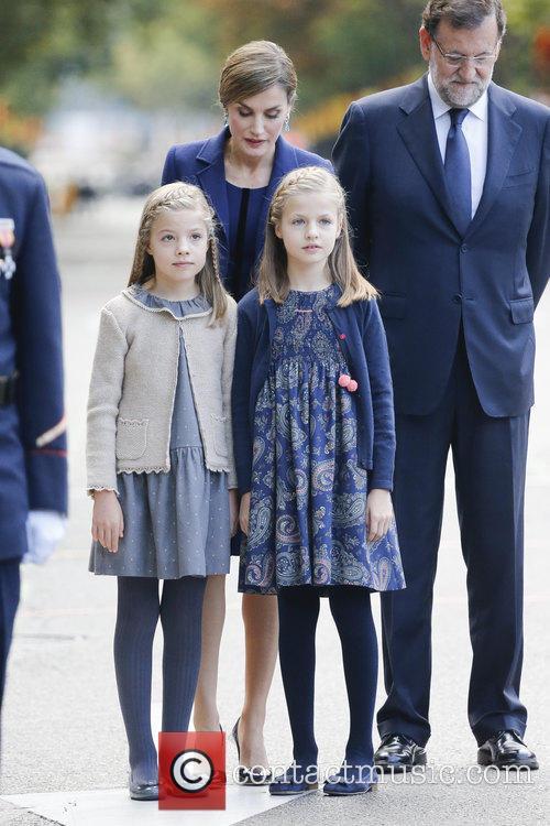 Queen Letizia, Prince Leonor and Prince Sofia 4