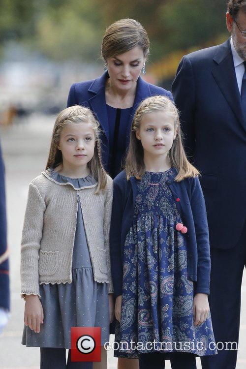 Queen Letizia, Prince Leonor and Prince Sofia 5