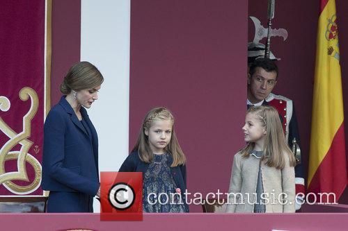 Queen Letizia, Prince Leonor and Prince Sofia 7