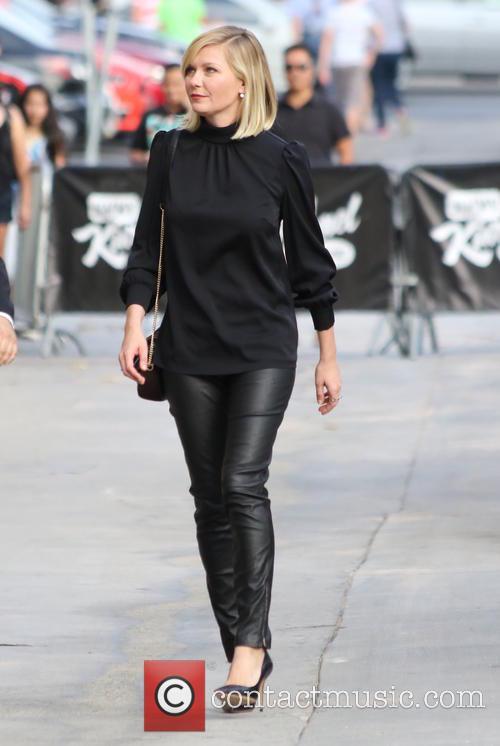 Jimmy Kimmel and Kristen Dunst 4
