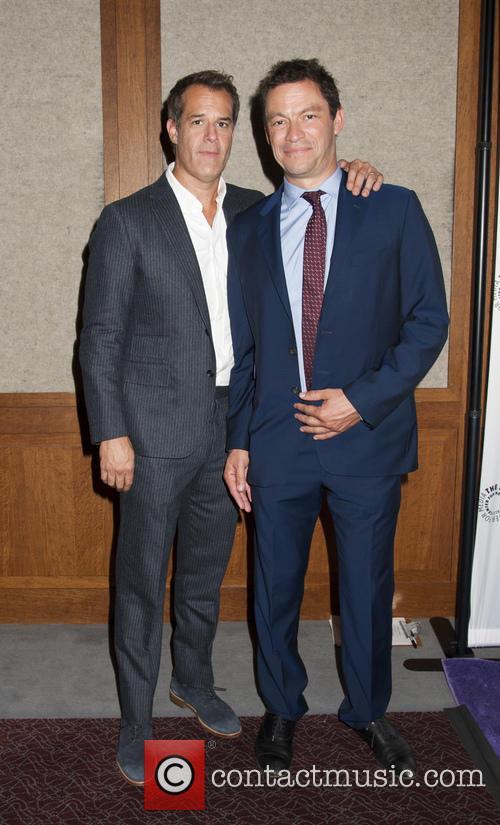 Josh Stamberg and Dominic West 1