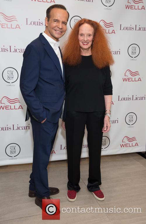 Louis Licari and Grace Coddington 1