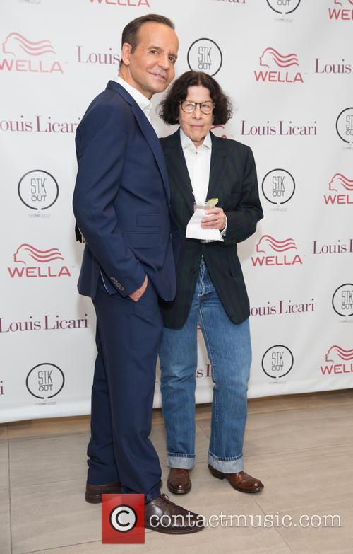 Louis Licari and Fran Leibowitz 1