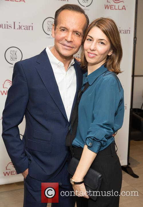 Louis Licari and Sofia Coppola 2