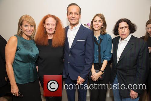 Katie Couric, Grace Coddington, Louis Licari, Sofia Coppola and Fran Leibowitz 2