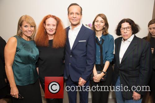 Katie Couric, Grace Coddington, Louis Licari, Sofia Coppola and Fran Leibowitz 3