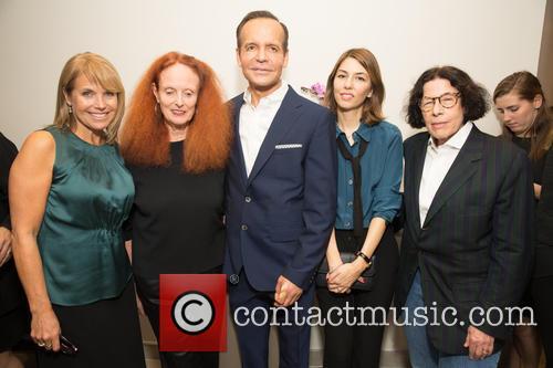Katie Couric, Grace Coddington, Louis Licari, Sofia Coppola and Fran Leibowitz 1
