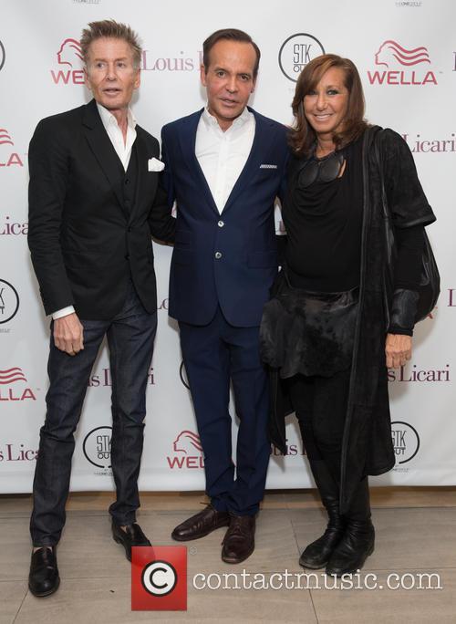 Calvin Klein, Louis Licari and Donna Karan 2