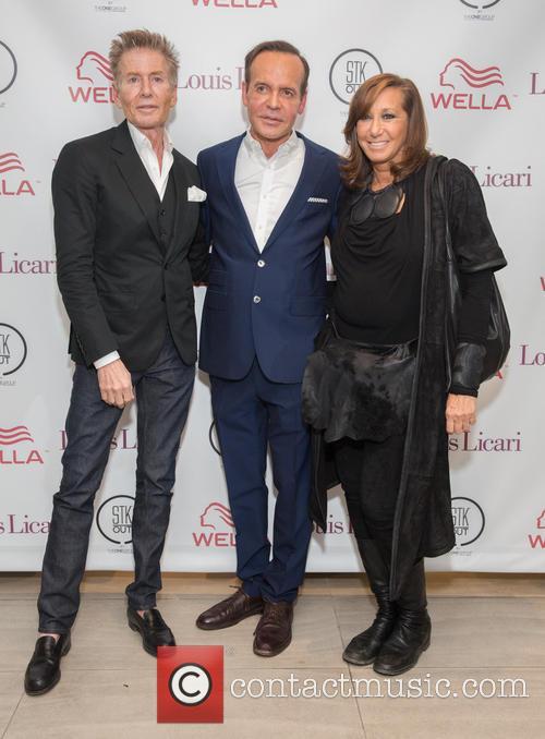 Calvin Klein, Louis Licari and Donna Karan 1