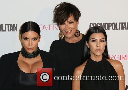 Kim Kardashian, Kris Jenner and Kourtney Kardashian 2
